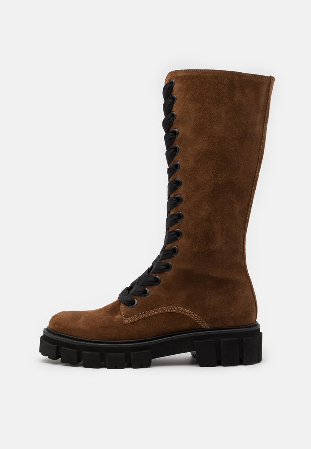 VIDA - Platform boots - castoro