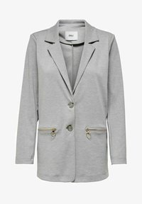ONLY - KLASSISCH - Short coat - light grey melange - 3