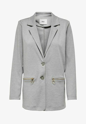 KLASSISCH - Short coat - light grey melange