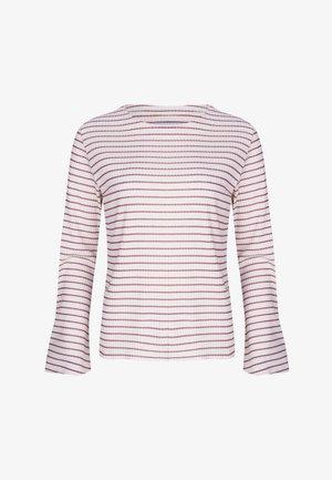 LONGSLEEVE EMMA - Longsleeve - pink white
