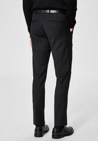 Selected Homme - Pantalon de costume - black - 2