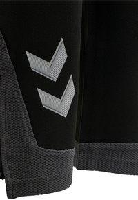 Hummel - LEAD POLY - Tracksuit bottoms - black - 3