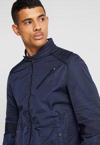 Antony Morato - BIKER COAT - Summer jacket - ink blue - 3