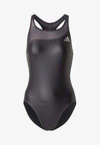 adidas Performance - GLAM-ON SHINY SWIMSUIT - Swimsuit - black - 7