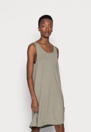Day dress - faded khaki
