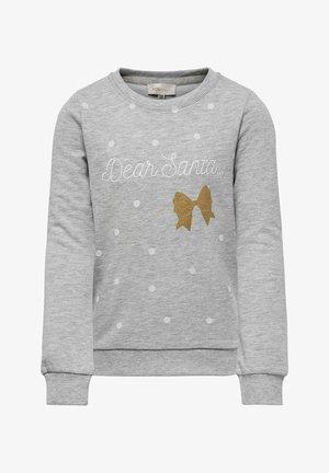 WEIHNACHTS - Sweater - light grey melange