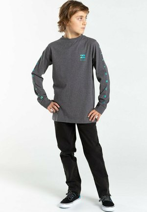T-shirt imprimé - dark grey heath