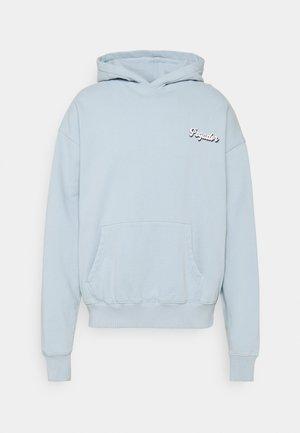 GRANADA OVERSIZED HOODIE - Sweatshirt - washed aqua