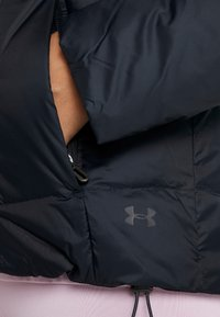 Under Armour - HOODED - Down jacket - black/jet gray - 5
