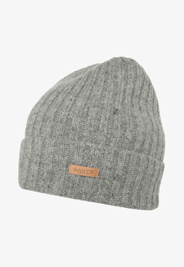 HAAKON TURNUP - Czapka - heather grey