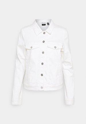 VMHOTSOYA JACKET - Denim jacket - bright white