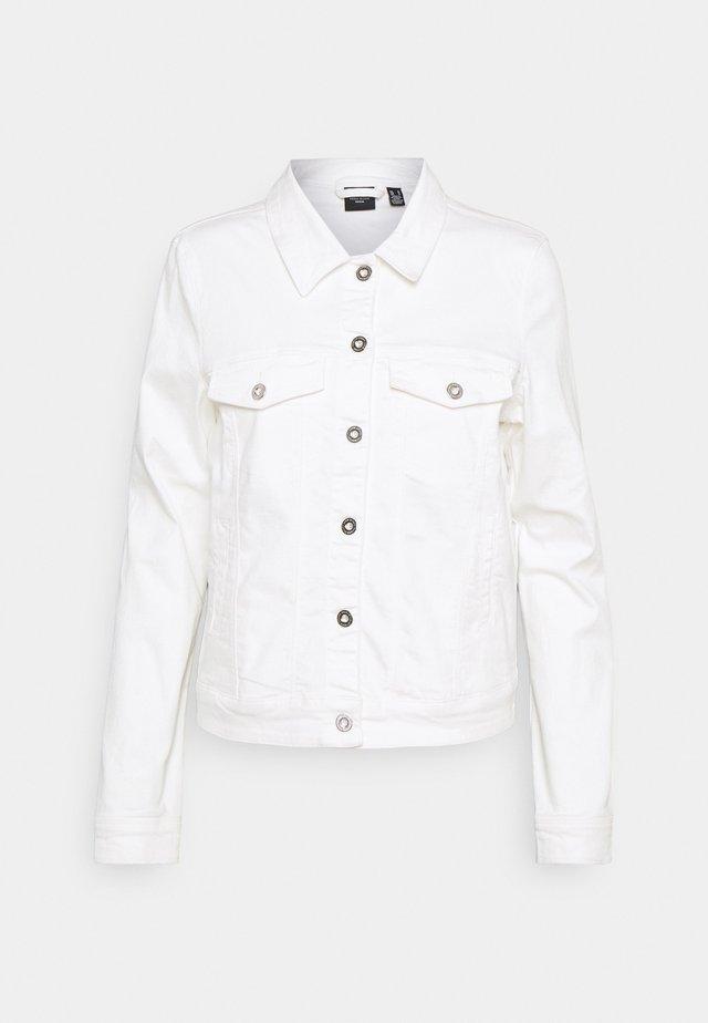 VMHOTSOYA JACKET - Jeansjacke - bright white