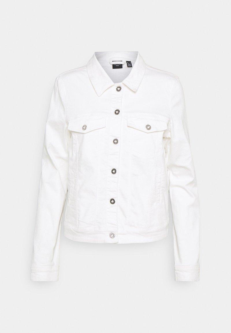 Vero Moda Tall - VMHOTSOYA JACKET - Denim jacket - bright white