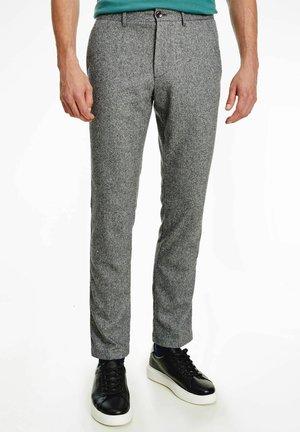 DENTON - Trousers - grau