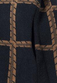 Thought - CHATTERTON CARDIGAN COAT - Classic coat - midnight navy - 2