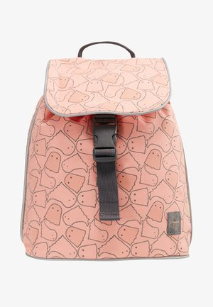 MINI DUFFLE BACKPACK SPOOKY - Ryggsäck - peach