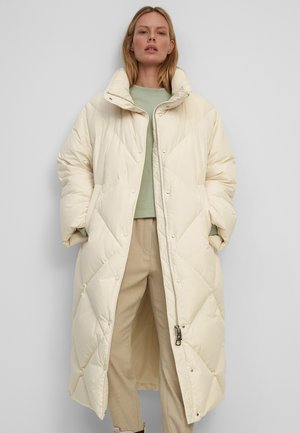 Down coat - chalky sand
