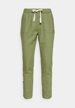 Kalhoty - vineyard green