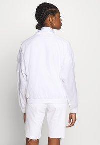Champion Reverse Weave - FULL ZIP TOP - Summer jacket - white - 2