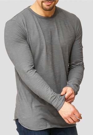 LONGSLEEVE WILLBUR - Long sleeved top - grey