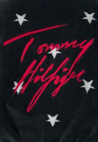 Tommy Hilfiger - TOWELLING ROBE STARS - Dressing gown - desert sky - 7