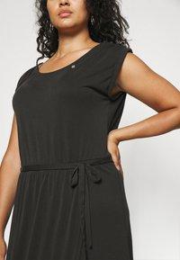Ragwear Plus - ETHANY - Jersey dress - black - 3