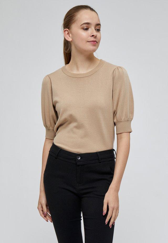 LIVA - T-shirt - bas - sand