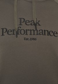 Peak Performance - ORIGINAL HOOD - Felpa - black olive - 2
