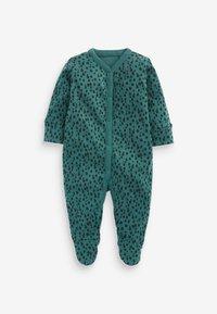 Next - 3 PIECE PACK ELEPHANT  - Sleep suit - green - 2