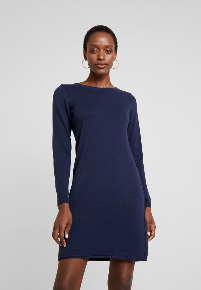 DRESS - Jumper dress - navy