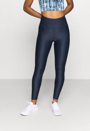 HIGH SHINE LEGGINGS - Leggings - navy blue
