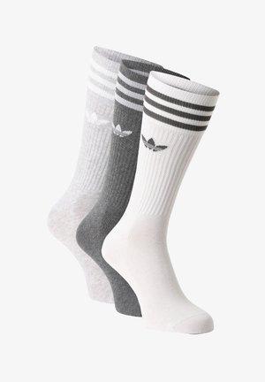 Socks - weiß grau