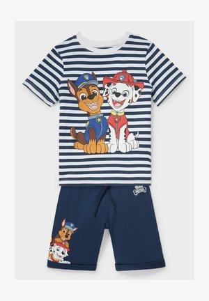 SET - Shorts - dark blue/ white