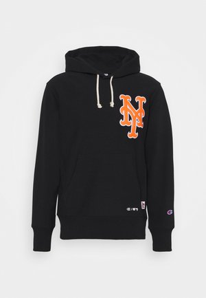 MLB PREMIUM NEW YORK METS HOODED - Felpa aperta - black