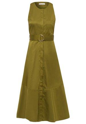 Day dress - moos green