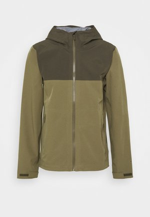 APEX FLEX FUTURELIGHT JACKET - Hardshellová bunda - olive/taupe