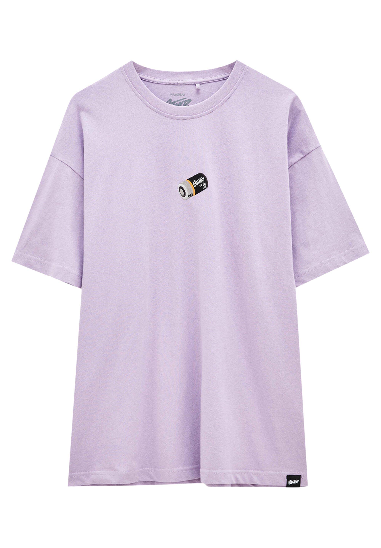 Homme MIT STICKEREI IN VERSCHIEDENEN FARBEN - T-shirt imprimé