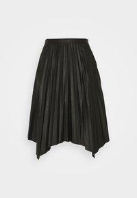 DESIGNERS REMIX - MARIE PLEATED SKIRT - Jupe plissée - black - 3