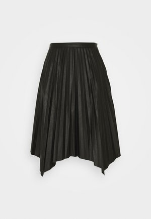 MARIE PLEATED SKIRT - Gonna a pieghe - black
