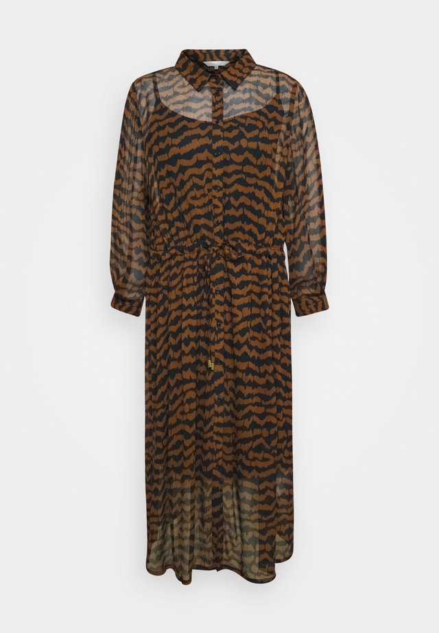 ESMINE - Maxi dress - choclat glaze