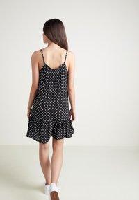 Tezenis - Day dress - nero st.pois - 1