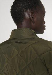 Bruuns Bazaar - AZAMI LINETTE COAT  - Winter coat - green night - 3