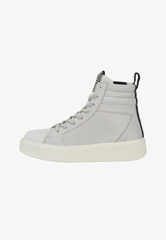 MADDIE - Sneakers hoog - hellgrau