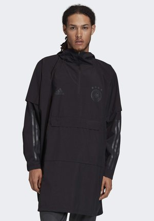 GERMANY PONCHO - Waterproof jacket - black