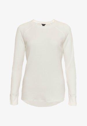 MYRIAD THERMAL - Long sleeved top - elfenbein