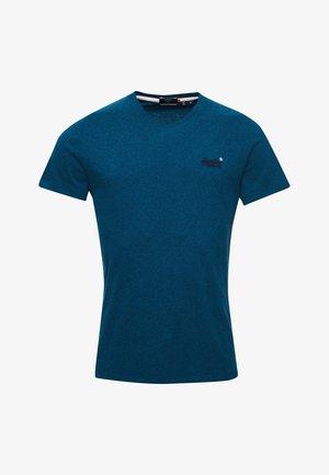 OL VINTAGE EMB  - T-shirt - bas - ketion blue marl