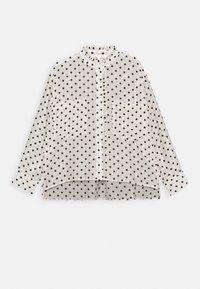 maje - CATHERINA - Button-down blouse - blanc/noir - 4