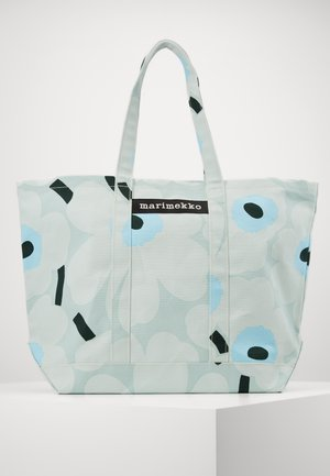 PERUSKASSI PIENI UNIKKO BAG - Tote bag - light turquoise/blue/green