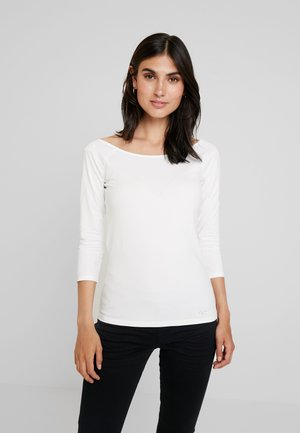 CORE FLOW - Long sleeved top - off white