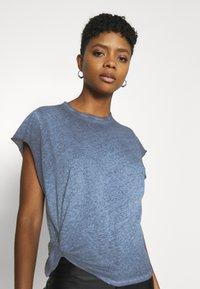G-Star - GYRE KNOT CAP - Print T-shirt - blue - 3